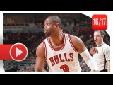 Dwyane Wade Full Highlights vs Hawks (2017.01.25) - 33 Pts, 5 Reb