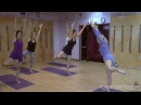 Toward Virabhadrasana III with Carrie Owerko Senior Intermediate Iyengar Yoga Teacher
