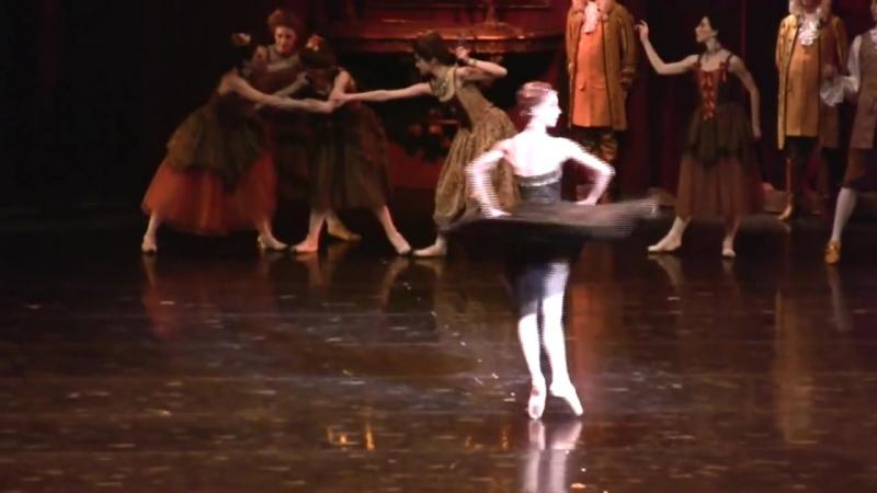 Балет Manon (2 акт- вариация Манон) - исп. прима балерина Sylvie Guillem