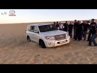 Арабы мастерски выезжают из песка