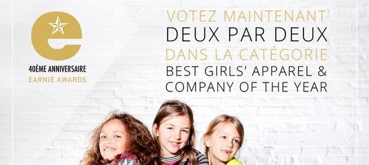3bf32608c3dd Deux par Deux на Earnie Awards 2017 - Детская одежда Интернет магазин  Kidslove.me   Официальный сайт.