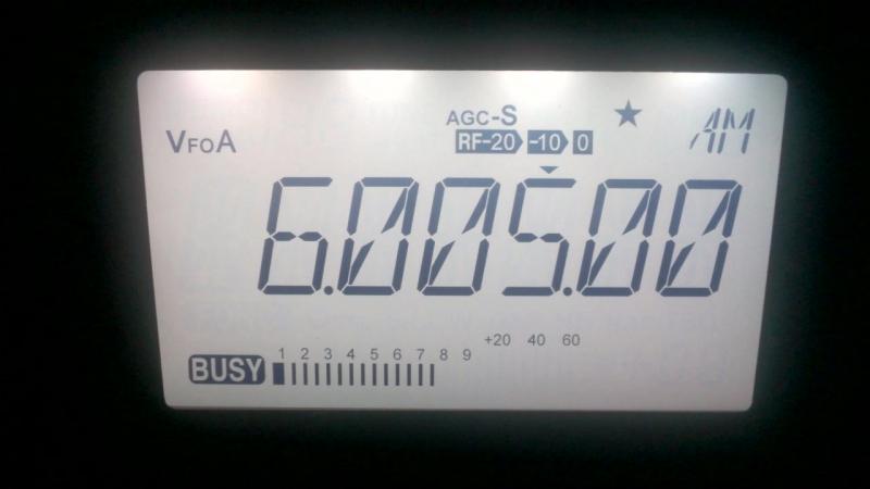 BBC 6005 kHz