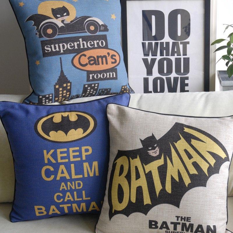 Наволочки для подушек с Batman