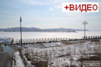 22  марта 2014  - Набережная Комсомольского района Тольятти зимой