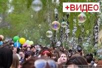 22 апреля 2012 - Весенняя прогулка с мыльными пузырями в Тольятти
