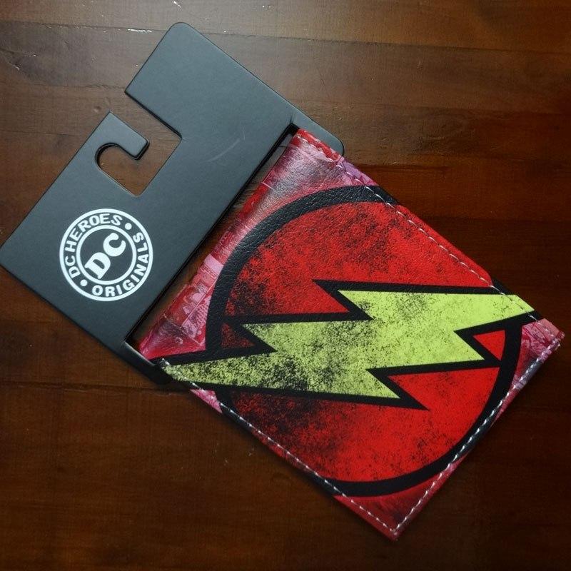 Бумажник с символикой The Flash