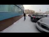 Катка зимой на BMX по Хабаровску