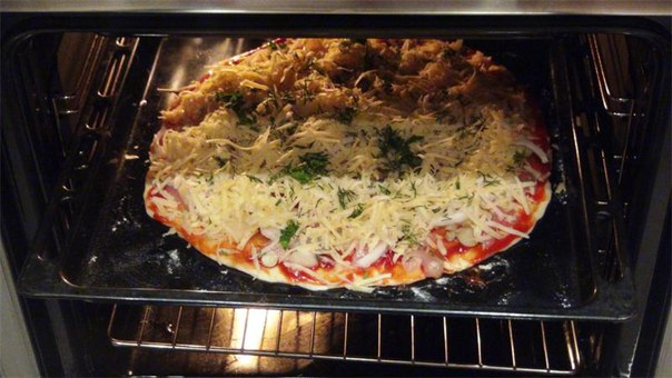 Приготовление пиццы в домашних условиях пошаговое фото