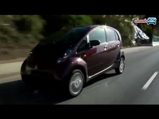 Kei-car attacks usa! 2010 mitsubishi i road test video.flv