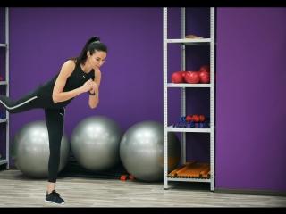 Интервальная тренировка для ног и ягодиц