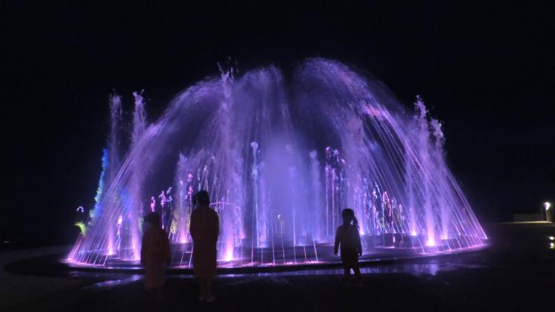 Любопытная Варвара- промокла под фантаном
