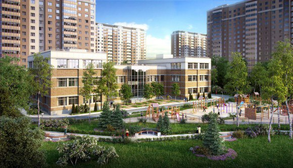 Оформление земли дома в Видном