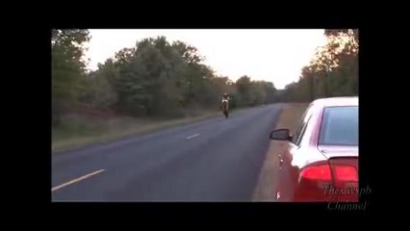 Страшные аварии мотоциклов !