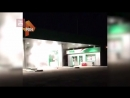 Пожар на АЗС в Нерюнгри