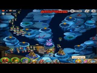The King of Towers - Deep Sea (heroic 5) Victory. Dark Blue Bomb Heroic Mode. (Part 145)