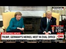 President Donald Trump, Germany's Merkel meet in Oval Office. #Merkel #Trump #POTUS