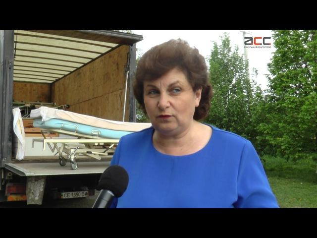 В Лужанську амбулаторію привезли гуманітарну допомогу