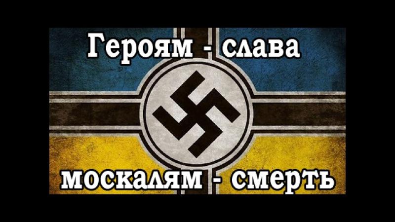 Украинский НАЦИЗМ. Героям-слава, москалям-смерть!