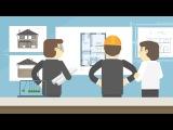 Инфографика + 2D анимация для сайта / BUILDING MOTION