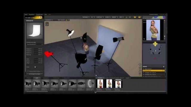 Vom fertigen Bild rückwärts zum Lichtsetting - set.a.light 3D | DE
