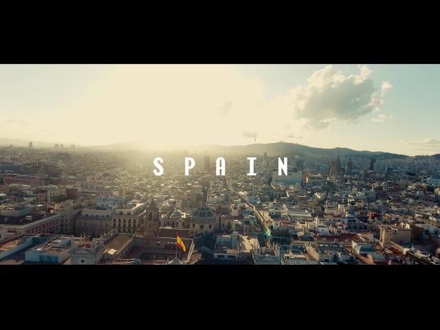 Spain: Barcelona to Valencia || Phantom 4 Drone | 4K Video | DJI OSMO | Vilius Erika