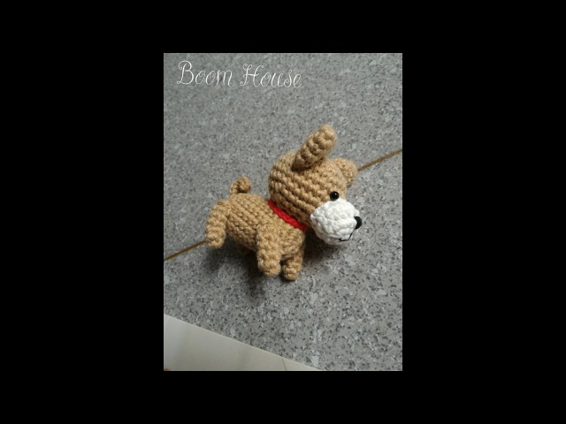 How to crochet HOKKAIDO DOG - Hướng dẫn móc chó HOKKAIDO bằng len- Boom House