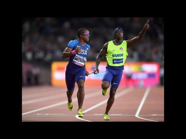Men's 200m T11 Final London 2017 World Para Athletics Championships