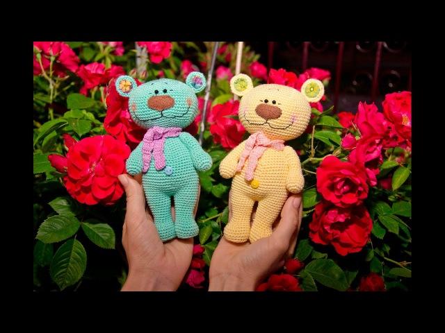 Мастер - класс по вязанию крючком игрушки Медвежонок