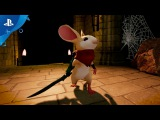 Moss - PlayStation VR Gameplay Announcement Trailer  E3 2017