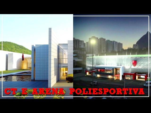 Novos detalhes do 'novo' CT, Arena Poliesportiva e um tempo do canal. Respondendo comentários 1