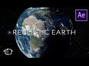 How to make a Realistic Earth in Space Tutorial After Effects No Plugins