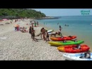Пляж Толстяк, Севастополь, Северная сторона