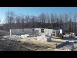 Скоростное строительство из несущих термоструктурных пенополистирольных пане ...