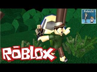 ROBLOX играем на iPad прохождение новой карты Escape Camp Роблокс Obby Колесики Летсплей