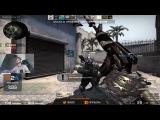 FaZe NiK0 insane USP-S headshot on Byali's stream! Too fast for my eyes...