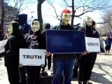 ANONYMOUS FOR THE VOICELESS  1st Cube Of Truth in Montreal #2