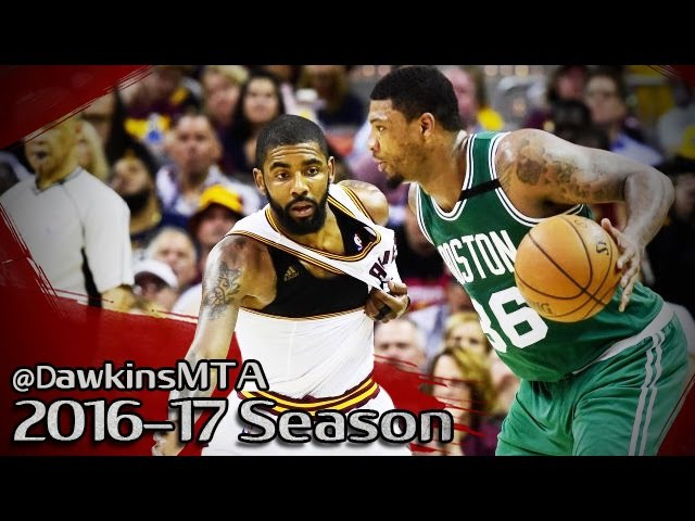 Kyrie Irving vs Marcus Smart PG Duel 2017 ECF Game 3 - Kyrie With 29 Pts, 7 Ast, Smart With 27, 7!