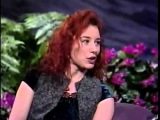Tori Amos - Crucify Interview Winter @ The Tonight Show with Jay Leno in 1993