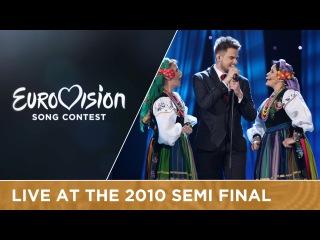Marcin Mroziński - Legenda (Poland) Live 2010 Eurovision Song Contest