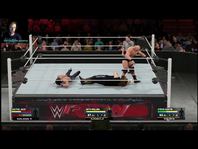 WWE 2K17 | Triple Threat Online Match | PS4