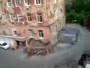 Как падают обычные дома в России.Вот это да
