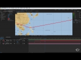 Indiana Jones Airplane Map Tutorial - After Effects Template (No Plugins)