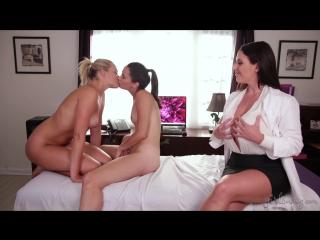 Mia Malkova, Georgia Jones, Angela White (The Chiropractor: Part Two / 13.01.17)[2017,HD 1080p]