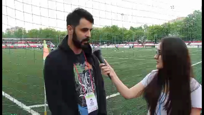 Интервью игроков нашей команды, на открытии чемпионата по футболу Кубка Имама Ага-Хана IV!