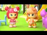 Мультики для девочек. Домик для куколок Апельсинки и Конфетки кукольный театр