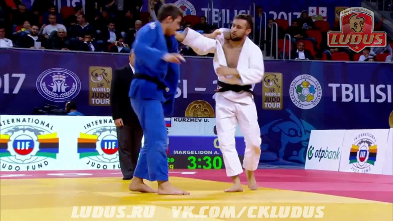 Куржев Уали (RUS) vs Маргелидон Артур (CAN). Схватка за бронзу в весе до 73 кг. Гран-При Тбилиси 2017