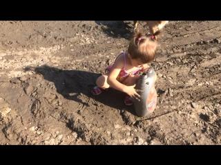 Маленький любитель грязи