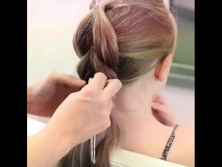 Причёска для юной красавицы