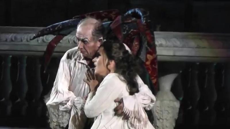Olga Peretyato and Leo Nucci sing Parla, siam soli... Sì vendetta... from Rigoletto (act II) by Verdi