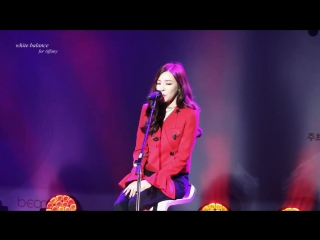 Fancam Tiffany - I Just Wanna Dance Acoustic Ver. 0805 170113 Beaming Effect